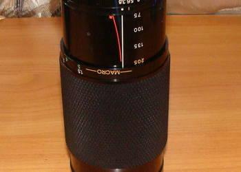 Obiektyw Soligor CD 75-205 Zoom+Macro  O/OM