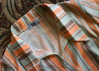kopertowa koszula w pastelowe paski