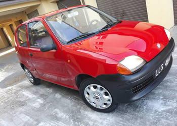 Piękny Fiat Seicento 2000 rok