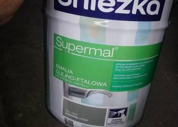 Farba Śnieżka Supermal popielaty połysk 10L