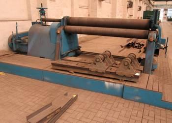 Rewelacyjny WALCARKA DO BLACHY WALCE XZM 2500/17 mm Pleszew - Sprzedajemy.pl BG47