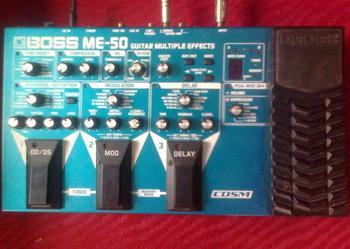 Boss ME 50 procesor gitarowy - sprzedam!