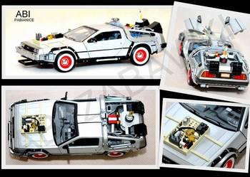 Model metalowy 1:24 Powrót do przyszłości 3 DMC Delorean