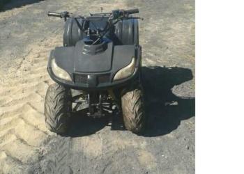quad Hummer 110 i wsk 125 i komar quad po remoncie