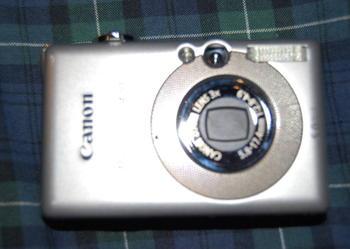 Canon PowerShot SD400 Silver 5.0MP