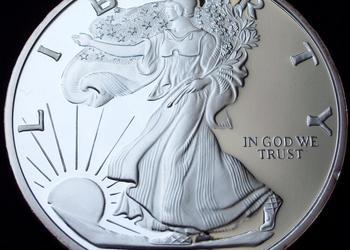 (78) American Silver Eagle 1Lb, Proof, (12 uncji) srebro 999