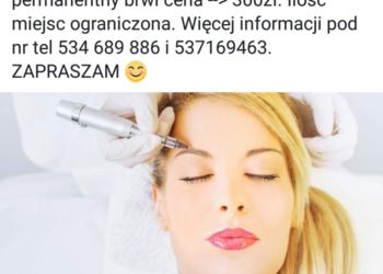 Makijaż permanentny 300 zł