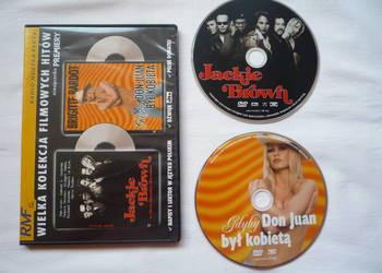 Film DVD Jackie Brown i Gdyby Don Juan był kobietą