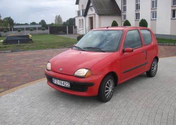 Fiat Seincento 900 wspom/elektryka