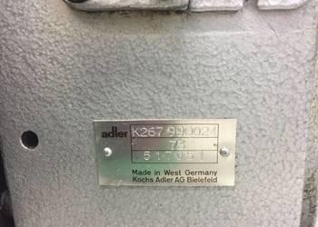 Maszyna do szycia adler K267