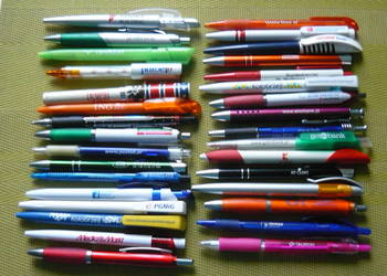 Długopisy 32 szt firmowe