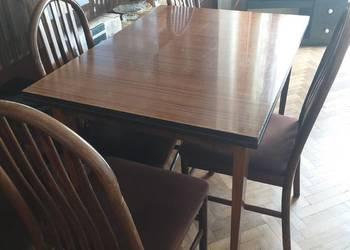 Stol i 4 krzesla na sprzedaż  Warszawa