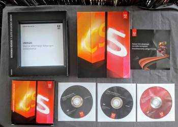 Sprzedam Adobe Creative Suite 5 Design Premium PL Win Box