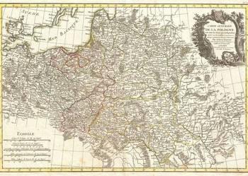Reprodukcje map      POLSKA  -  XVI-XIX w.