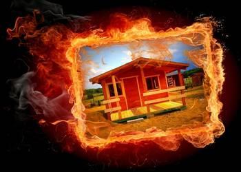 Altanka domek drewniany,domek letniskowy.