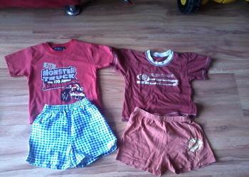 2x koszulki 2x spodenki za jedyne 7 złotych