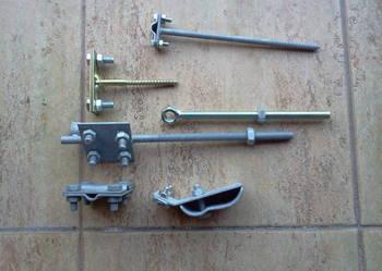 akcesoria montażowe do instalacji odgromowej