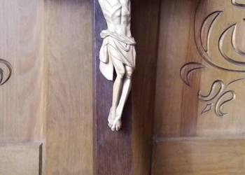 Rzeźba w drewnie, krzyż drewniany, dewocjonalia