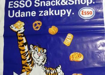 Reklamówka plastikowa Esso - oryginał lata 90'