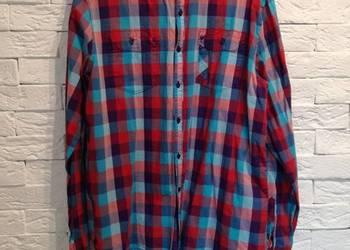 koszula w kratkę M L XL XXL krata vintage oversize luźna