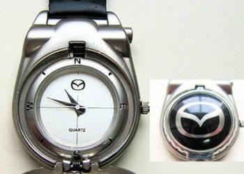 Zegarek kieszonkowy brelok Mazda na- prezent-pamiątka.