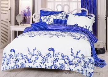 Pościel 160x200 Ranforce Royal blue Darymex