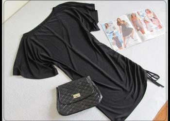 Czarna sukienka nietoperz stan idealny uniwersalny rozmiar