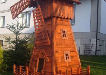 Wiatrak drewniany, ogrodowy 220cm Producent