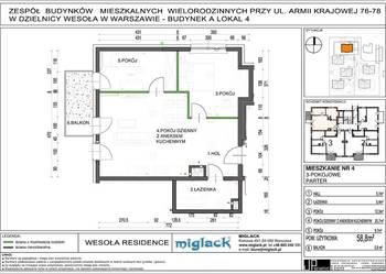 3 pokoje 60m2 Warszawa Wesoła ul. Armii Krajowej 76/78