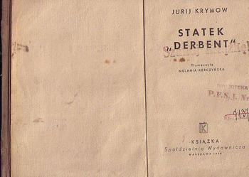 (5406) STATEK DERBENT – JURIJ KRYMOW