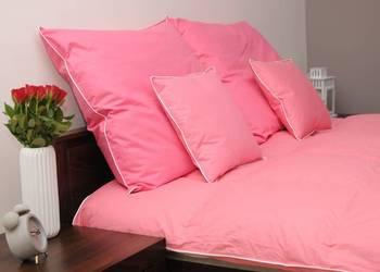 Komfortowa kołdra puchowa zimowa 140x200 2,0kg + 2 poduszki