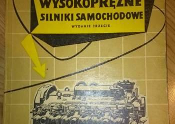 Wysokoprężne silniki samochodowe Witold Leśniak 1966 rok