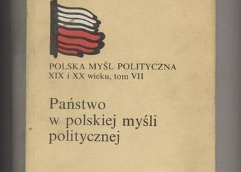 Państwo w polskiej myśli politycznej