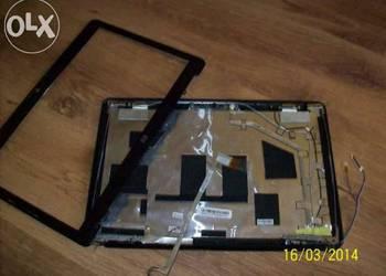 Klapa matrycy HP DV6 z ramką zawiasami kamerką taśmą komple