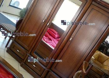 Producent mebli z drewna, szafa 3 drzwiowa z lustrem Bawaria