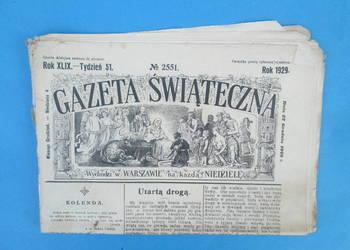 18. Gazeta Świąteczna Rok wydania 1929 - Bezpłatna wysyłka.