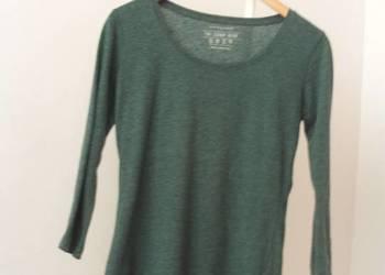 Zielona bluzka basic 3/4 rękaw