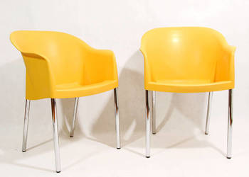 Para krzeseł Nobilis proj. Philippe Starcka, Niemcy lata 90.