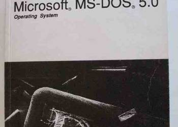 MICROSOFT MS DOS 5.0 OPERATING SYSTEM