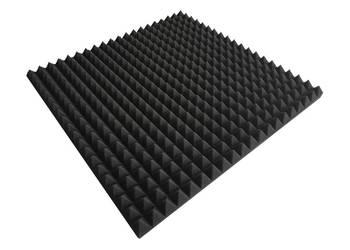 mata pianka akustyczna piramidki rozmiar 200x100x3cm Sz-n