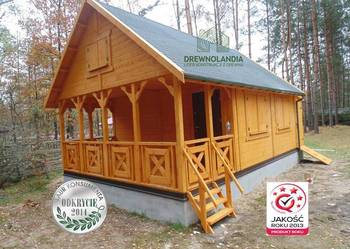 Domek Ogrodowy Z Drewna na działkę Letniskowy Altana Altanka