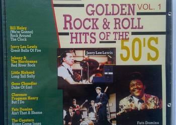 GOLDEN Rock & ROLL. Lata 50-te. Płyta CD.