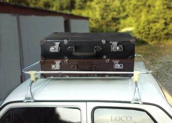 STARA WALIZKA na Bagażnik Dachowy box prl na stary samochód!