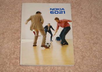 Sprzedam instrukcję do Nokia 6021