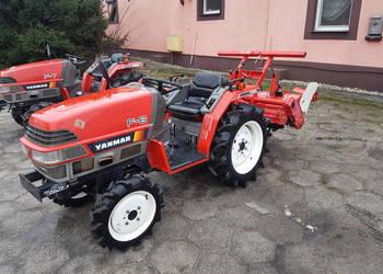 Mini Traktorek Ciągnik Rolniczy Yanmar f-6 Glebogryzarka