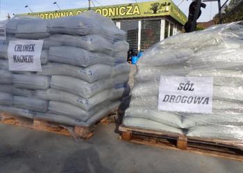 Sól drogowa worki 1 tona 40x25kg HURT piasek sorbent Radom