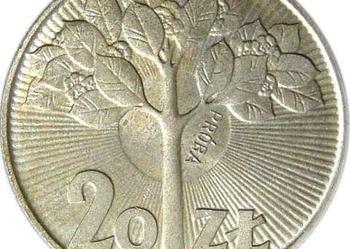 20 zł DRZEWKO 1973 PRÓBA