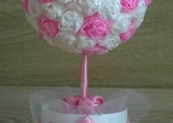 Drzewko na prezent urodziny, chrzest, wesele - rękodzieło