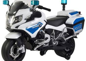 BMW policja motor skuter na akumulator licencja Warszawa