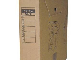 Karton archiwizacyjny brązowy A4 Elba 5,5 cm TRIC 10